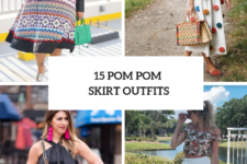 15 Outfits With Pom Pom Skirts