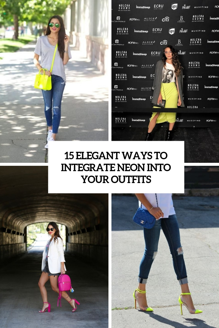 15 Elegant Ways To Integrate Neon Into Your Outfits