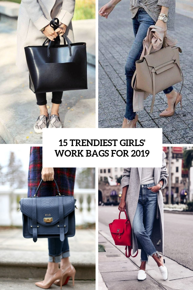 15 Trendiest Girls' Work Bags For 2019