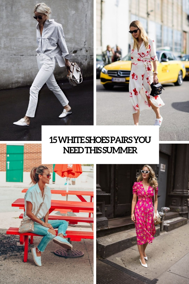white shoes pairs you need this summer cover