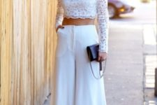 an all white summer outfit