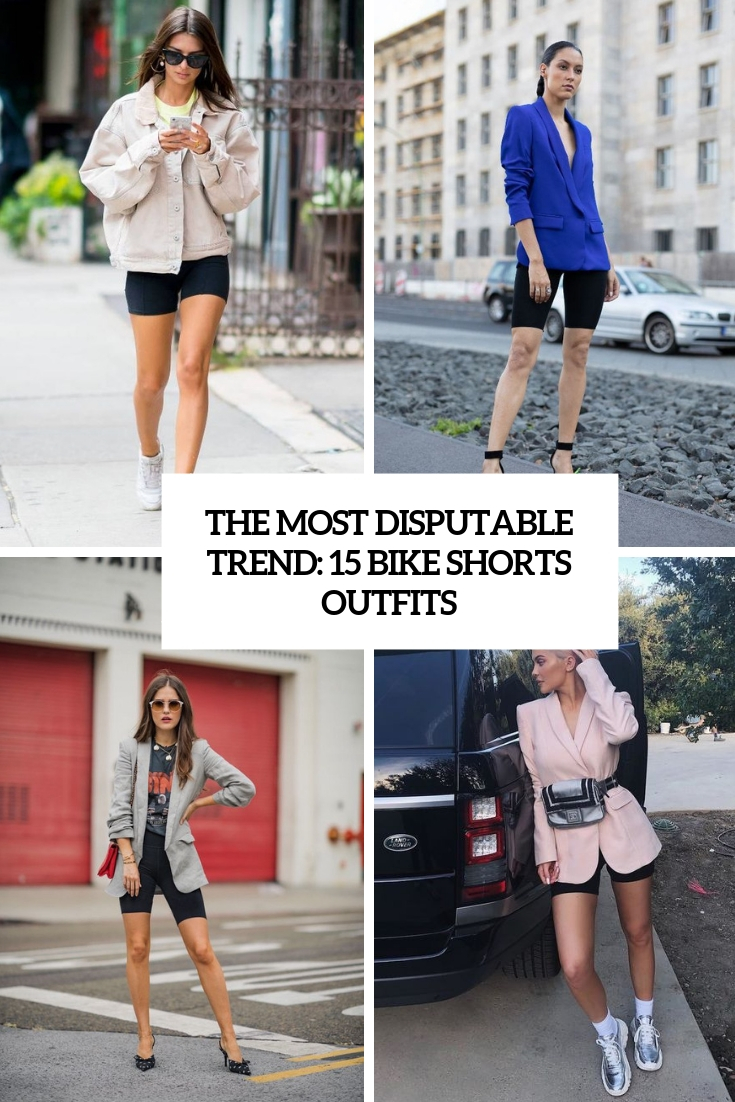 The Most Disputable Trend: 15 Bike Shorts Outfits