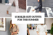 15 boiler suit outfits for this summer cover
