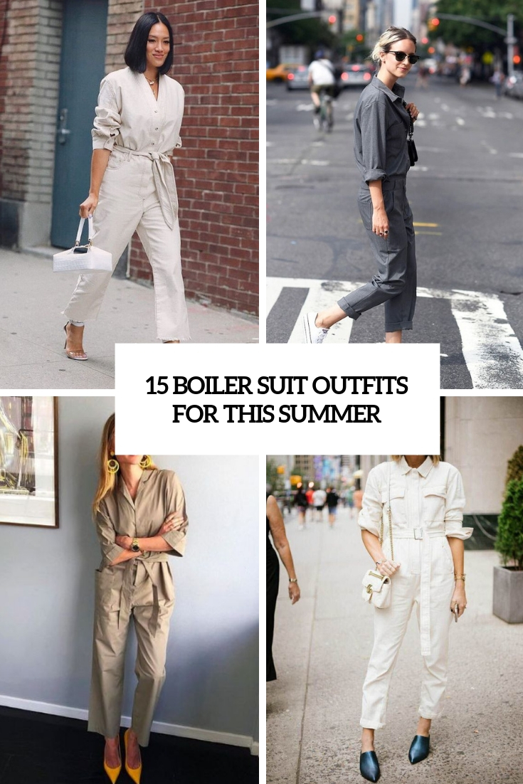 15 Boiler Suit Outfits For This Summer