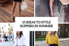 15 ideas to style slippers in summer cover