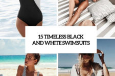 15 timeless black and white swimsuits cover