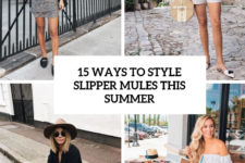 15 ways to style slipper mules this summer cover