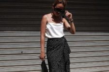 a summer look with flat sandals