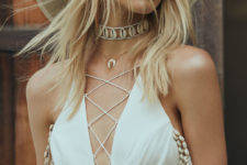 a cool boho summer outfit
