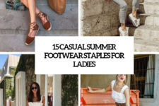 15 casual summer footwear staples for ladies cover