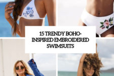 15 trendy boho-inspired embroidered swimsuits cover