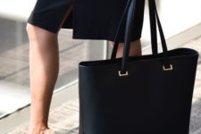 05 a gorgeously polished leather laptop tote like this one looks very professional and will match most of your looks