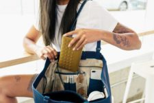 08 such a tote in bold blue is a great color accent for your work outfit and will accommodate everything