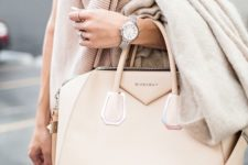 14 a blush Givenchy carry-all bag is amazing to go to work and for many other occasions