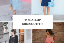 15 Awesome Looks With Scalloped Dresses