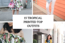 15 Looks With Tropical Printed Tops