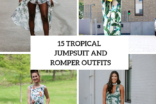 15 Outfits With Tropical Printed Rompers And Jumpsuits