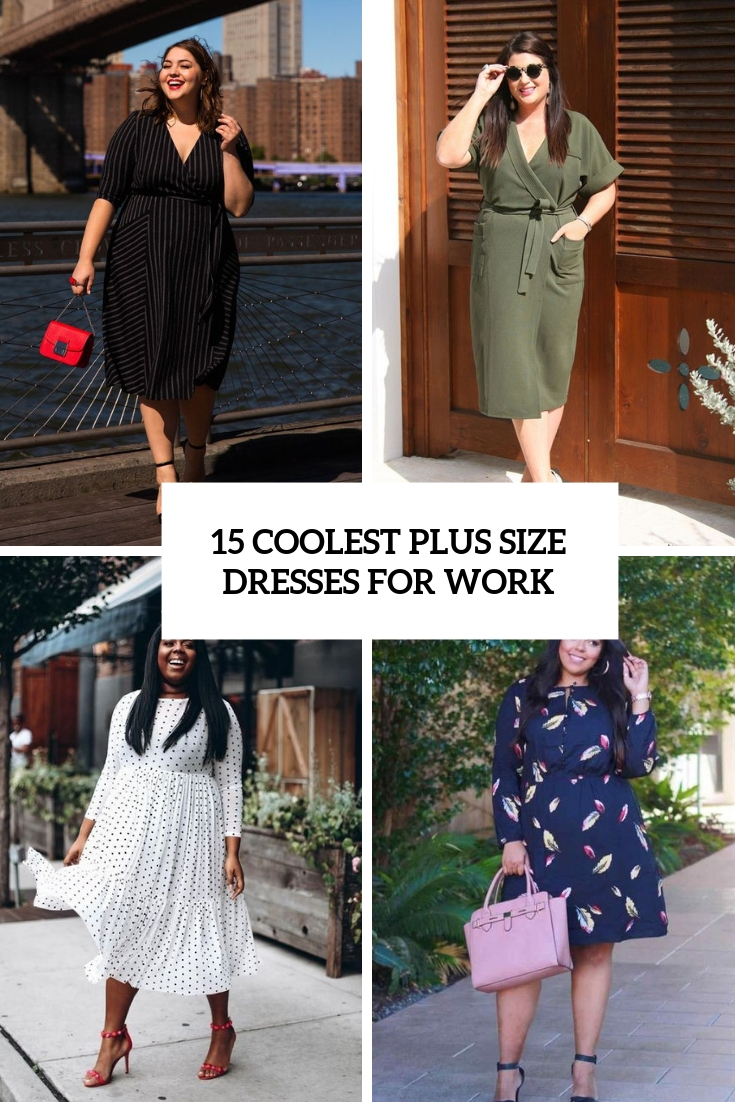 coolest plus size dresses for work cover