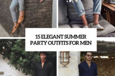 15 elegant summer party outfits for men cover