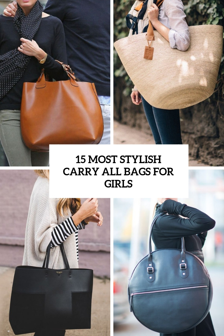 most stylish carry all bags for girls cover