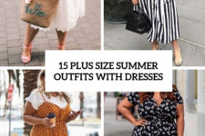 15 plus size summer outfits with dresses cover