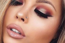 02 a shiny stud piercing will add a glam touch to your look without looking too much