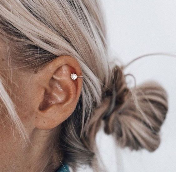 helix piercing placement