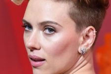 10 Scarlet Johansson rocking various hoops and other piercings in her ear looks wow
