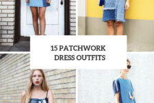 15 Amazing Outfits With Patchwork Dresses
