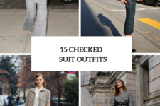15 Look Ideas With Checked Suits