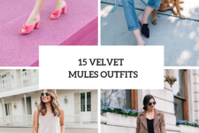 15 Outfit Ideas With Velvet Mules