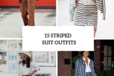 15 Outfits With Striped Suits For Women
