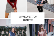 15 Stylish Outfits With Velvet Shirts