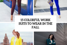 15 colorful work suits to wear in the fall cover