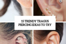 15 trendy tragus piercing ideas to try cover