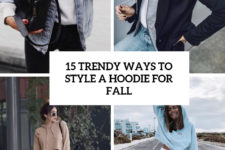 15 trendy ways to style a hoodie for fall cover