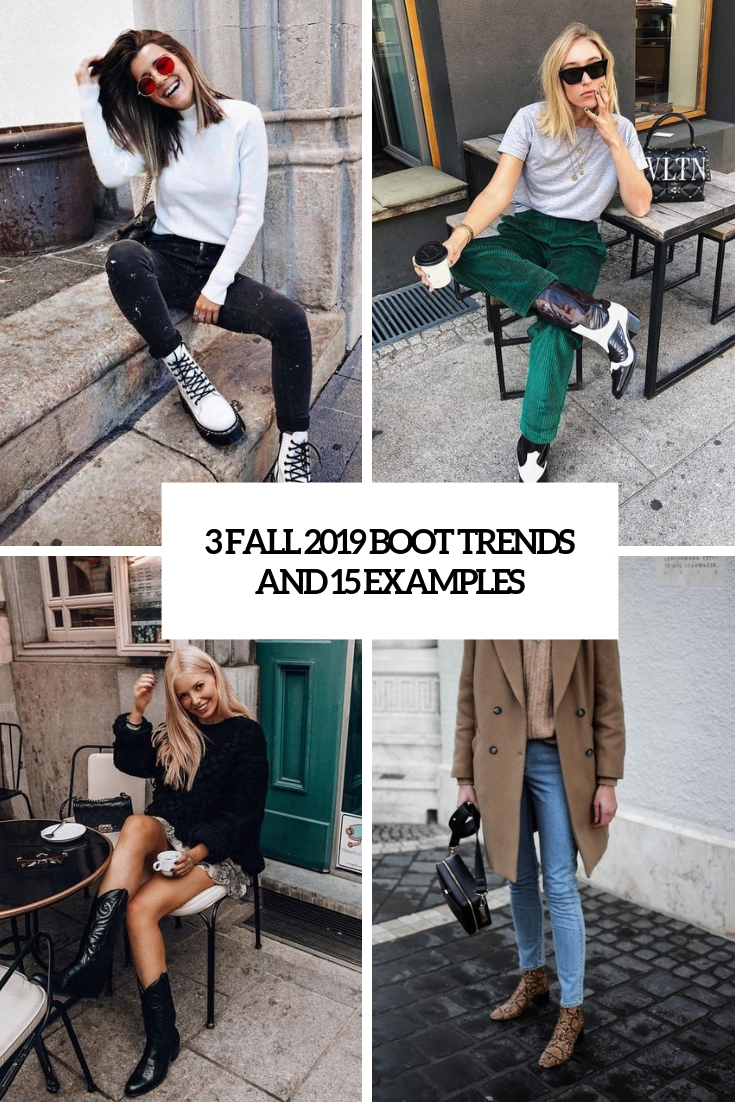 3 fall 2019 boot trends and 15 examples cover