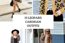 15 Comfy Outfits With Leopard Cardigans