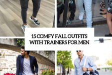 15 comfy fall outfits with trainers for men cover