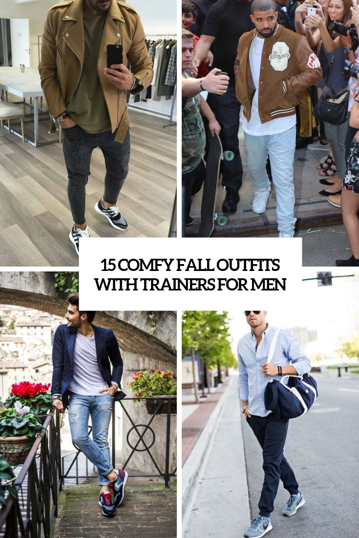 15 Comfy Fall Outfits With Trainers For Men