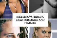 15 eyebrow piercing ideas for males and females cover