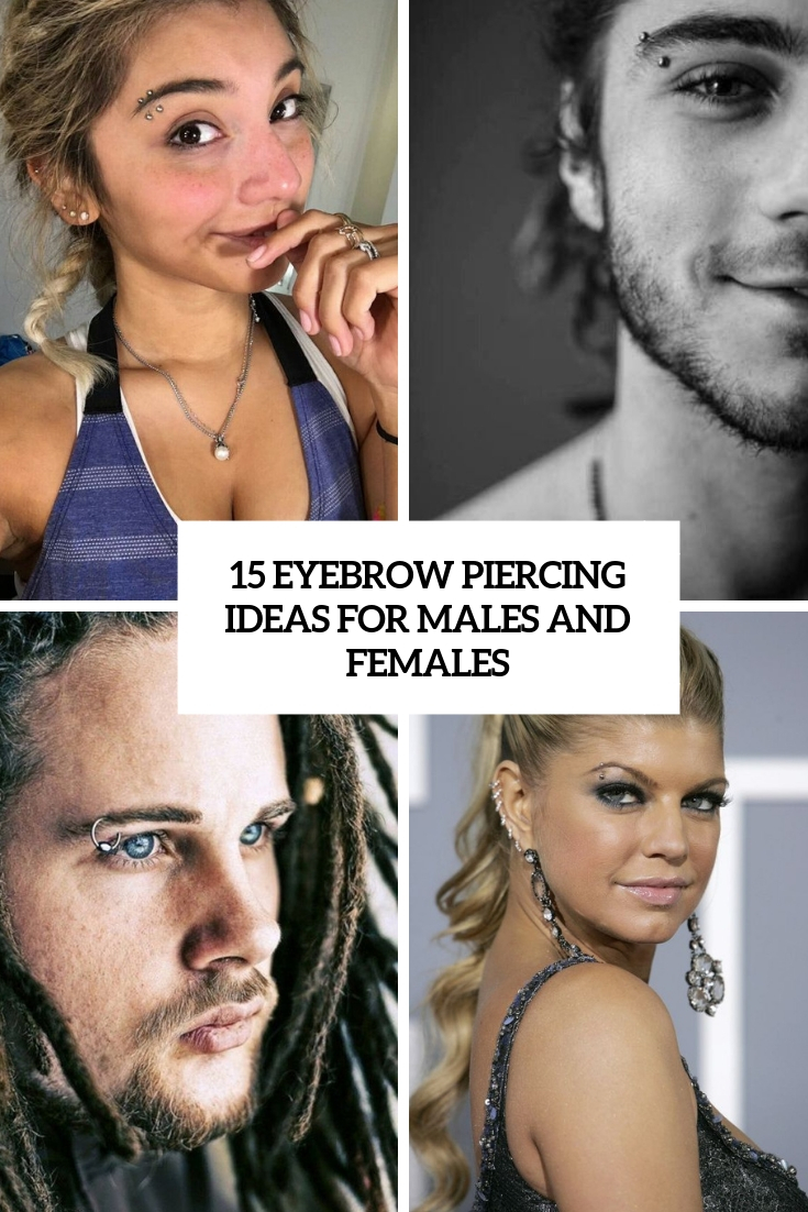 eyebrow piercing ideas for males and females cover