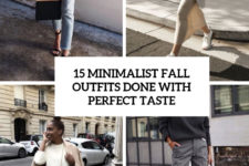 15 minimalist fall outfits done with perfect taste cover