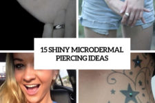 15 shiny microdermal piercing ideas cover