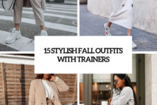 15 stylish fall outfits with trainers cover