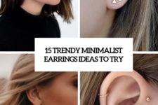 15 trendy minimalist earrings ideas to try cover