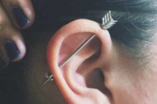 arrow bars are among the most popular accessories used for industrial piercings