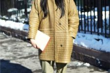 an oversized coat outfit for witner