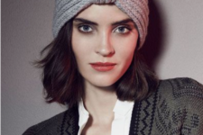 11 a knit turban is a stylish and refined idea for a fall or winter look, it will raise your outfit to a new level