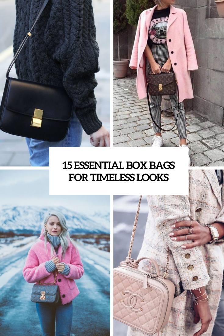 15 Essential Box Bags For Timeless Looks